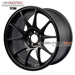 ROTA Wheel Titan (17x9, 5x114.3+35mm, 73mm Hub)