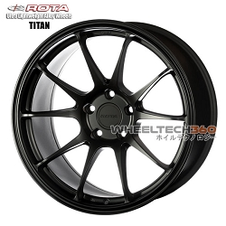 Rota Wheel Titan Flat Black 18x9.5