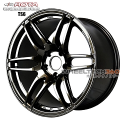 Rota Wheel TS6 Gun Metal 18x10