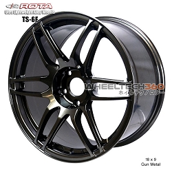 Rota Wheel TS6F 18 x 9 Gun Metal