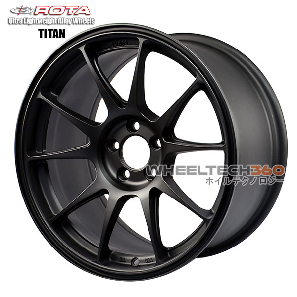 ROTA Wheel Titan (17x9, 5x114.3+42mm, 73mm Hub)
