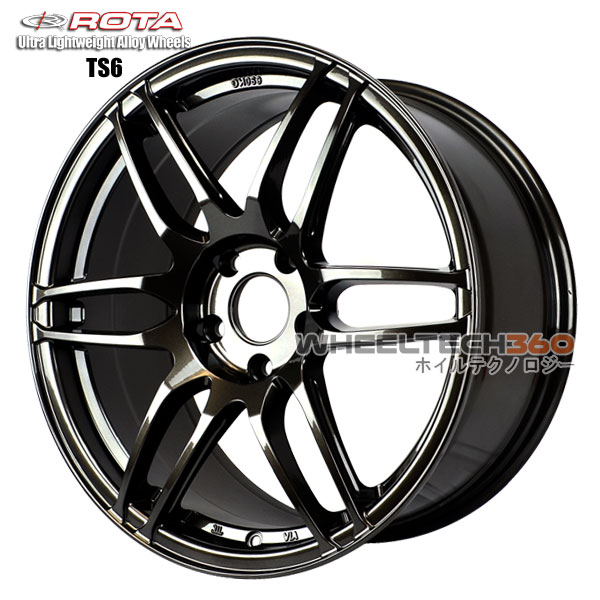 ROTA Wheel TS-6F (18x8.5, 5x114.3+45mm, 73mm Hub)