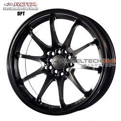 Rota Wheel DPT Hyper Black 18x9.5