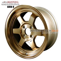 Rota Wheel Grid V Full Royal Sport Bronze 15x7