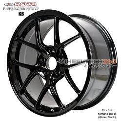 Rota Wheel KB 18 x 8.5 Yamaha Black