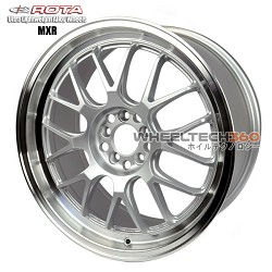 Roat Wheel MXR Royal Silver 18x8.5