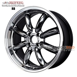 Rota Wheel RB Royal Hyper Black 17x7.5
