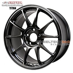 Rota Wheel Titan Hyper Black 17x8