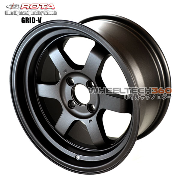 ROTA Wheel Grid V (16x8, 4x100+20mm, 67.1mm Hub)