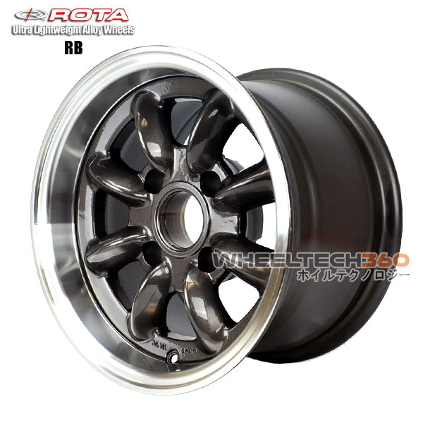 ROTA Wheel RB (13x8, 4x100+4mm, 67.1mm Hub)