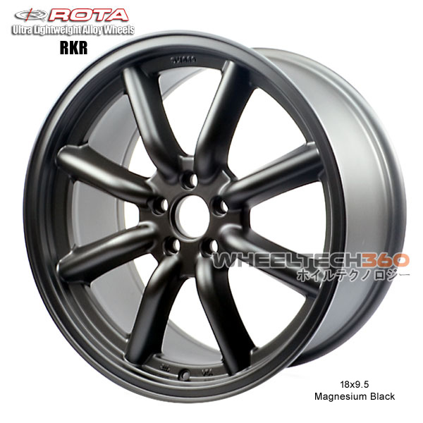 ROTA Wheel RKR-F (18x9.5, 5x100+44mm, 56.1mm Hub)