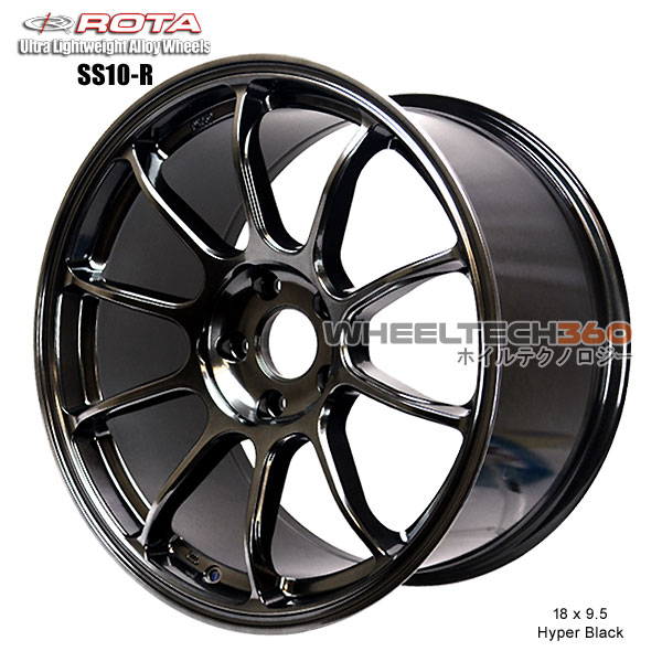 ROTA Wheel SS10-R (18x9.5, 5x100+38mm, 73mm Hub)