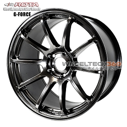 Rota Wheel G Force Hyper Black 18 x 9