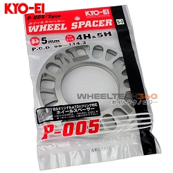 KYO-EI KICS Universal Wheel Spacers (5mm)