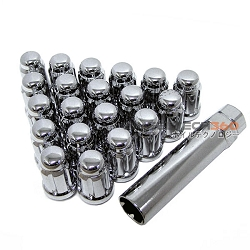 Muteki Super Tuner Wheel Lug Nuts Chrome