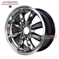 Rota Wheel RB Hyper Black 15x7