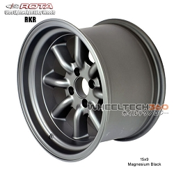 Rota Wheel RKR Magnesium Black 15x9