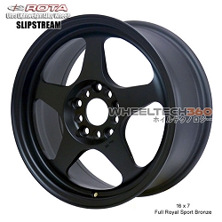 Rota Wheel Slipstream 16 x 7 Flat Black