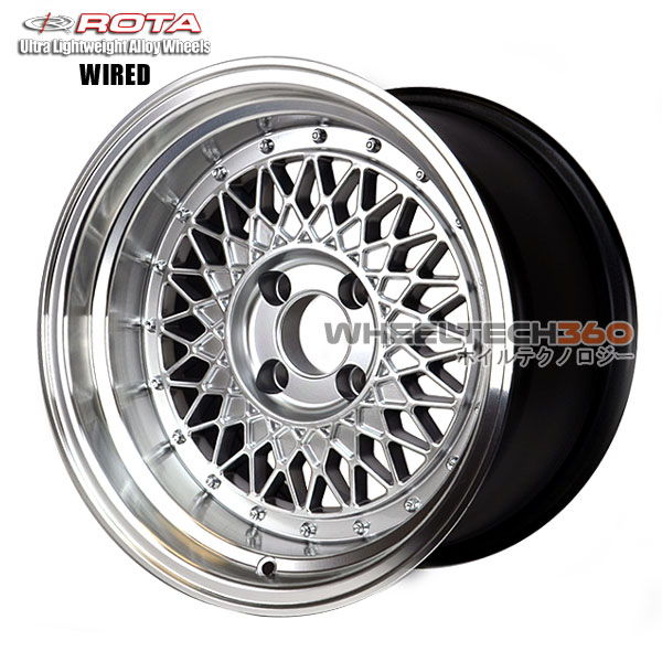 ROTA Wheel Wired (15x9, 4x114.3-15mm, 73mm Hub)