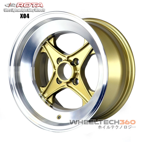 ROTA Wheel XO4 (15x8, 4x100+0mm, 67.1mm Hub)