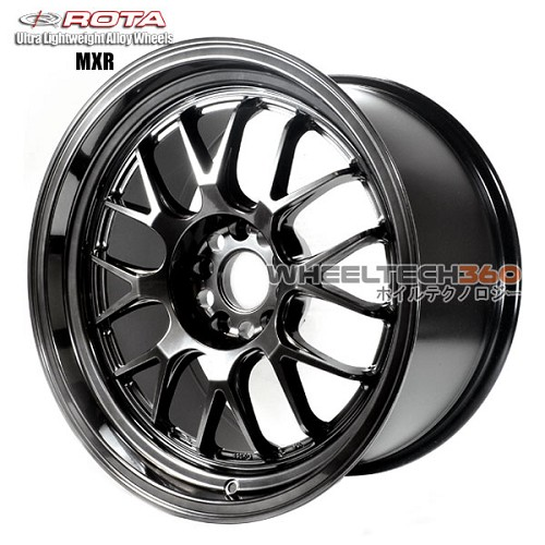 Roat Wheel MXR Hyper Black 18x9.5