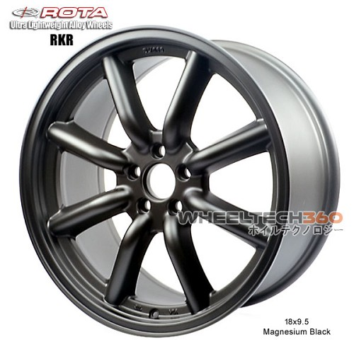 Rota Wheel RKR Magnesium Black 18x9.5
